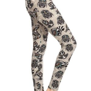 Pants - NWT Buttery Soft Animal Skull Leggings